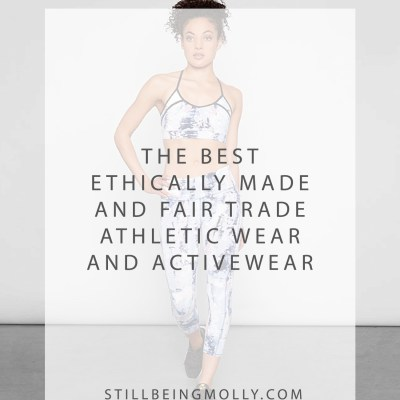 The Best Ethically Made and Fair Trade Athletic Wear and Activewear