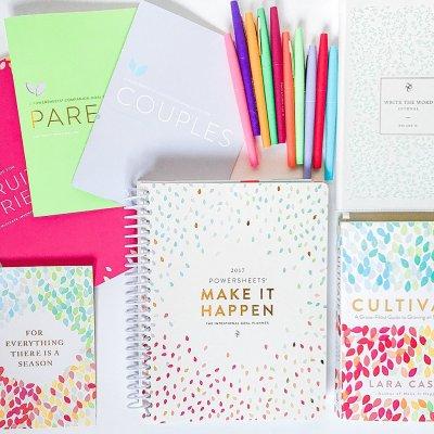 Cultivate What Matter Shop - PowerSheets Goal Setting Planner, Couples Goal Setting, Friendship Goal Setting, Parenting Goal Setting, Cultivate book by Lara Casey (1)