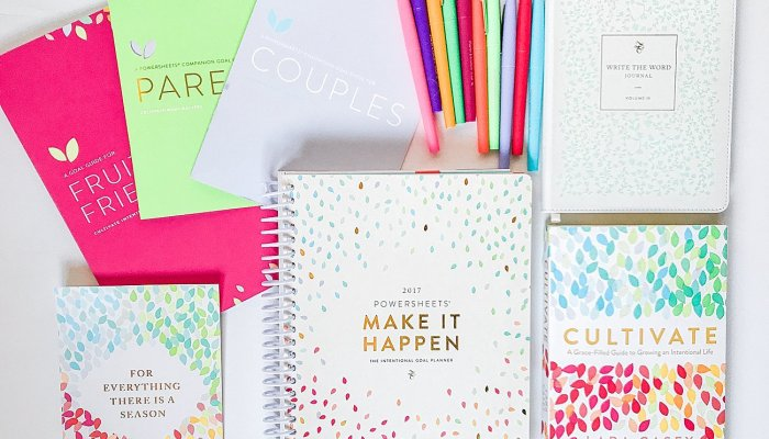 My FAVORITE Goal Setting Tips and Tools (& They Are On Sale!)