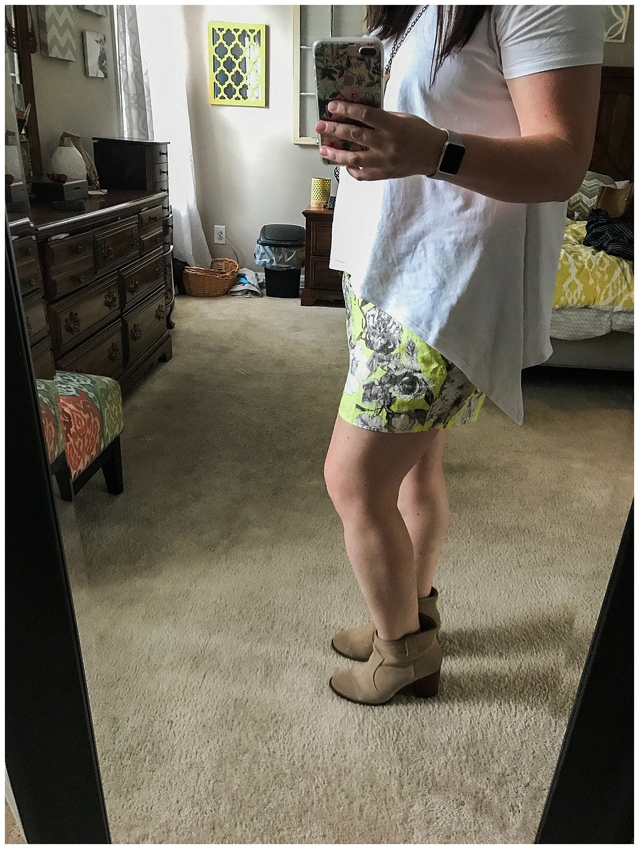 Shorts & Athleticwear Fix - Stitch Fix Review by NC ethical fashion blogger Still Being Molly