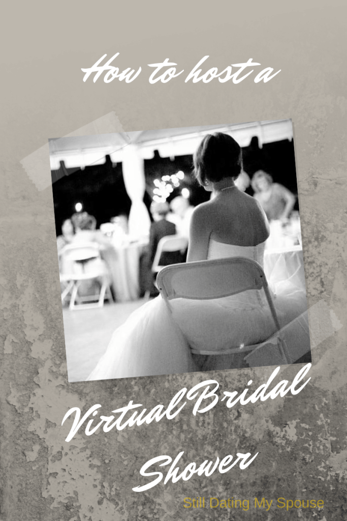 Host a virtual bridal shower