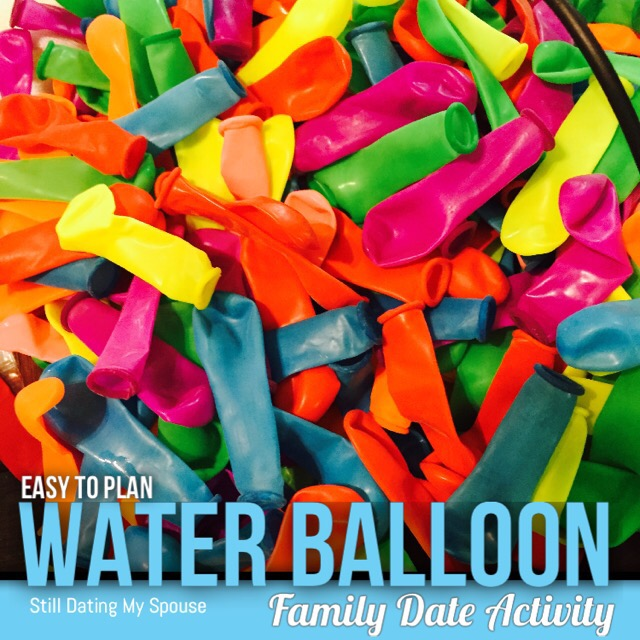Easy to plan family outing: Water Balloon Fight