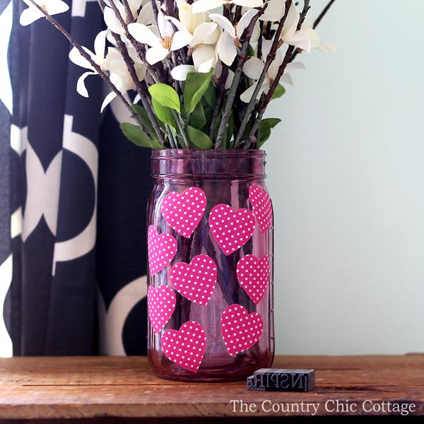 Valentine's Mason Jar