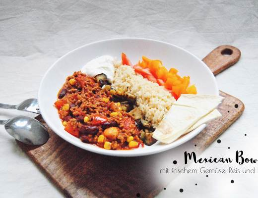 Mexican Bowl Rezept