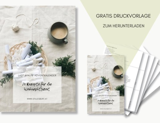 DIY Adventkalender 24 Rezepte