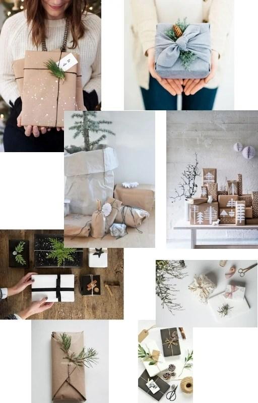 Verpacken minimalistisch