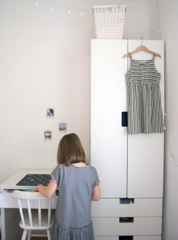 Ordnung im Kinderkleiderschrank