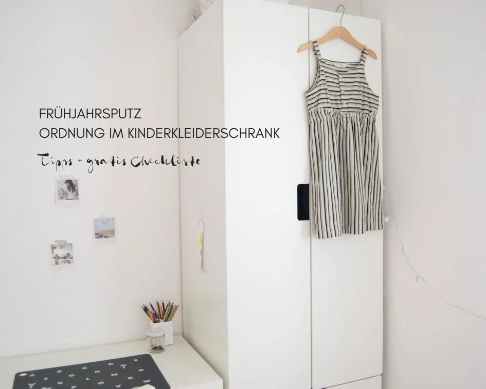 Kinder Kleiderschrank Kinderzimmer Ordnung