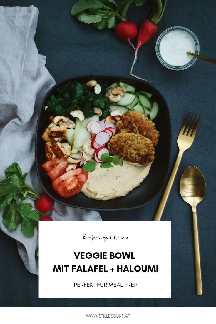 Veggie Bowl Falafel Haloumi