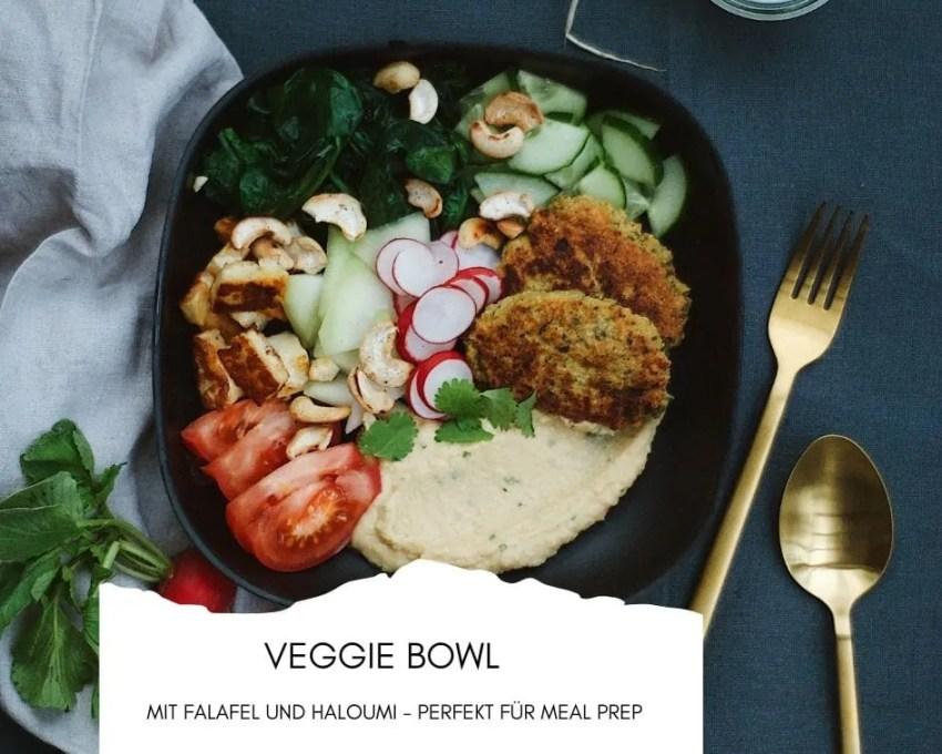 Veggie Bowl mit Falafel
