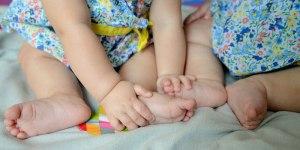 Drei Kinder gleichzeitig stillen – geht doch