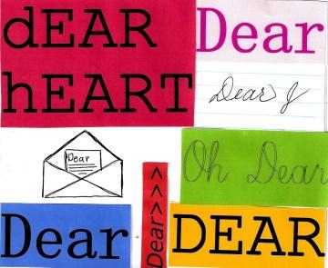 Don't call me dear