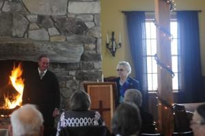 Bob Gifford and Mary Kiley