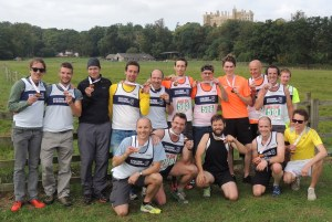 2014 Equinox Striders in front of castle