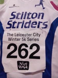 Leicester City 5k vest