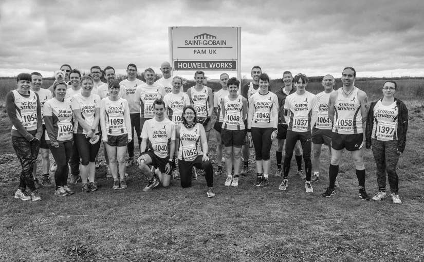 Stilton 7 with some of the Stilton Striders members