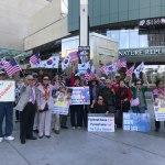 [미국 시사] LA 애국동포들, 북한에 끌려다니는 조국에 분노하다.