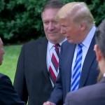 [시사] 미북 회담 성사 거론한 트럼프. 사인 행위(종전선언) 등은 없을 것.