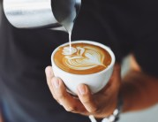 Stimulatte coffee and barista mobile event caterer for gourmet coffee experience