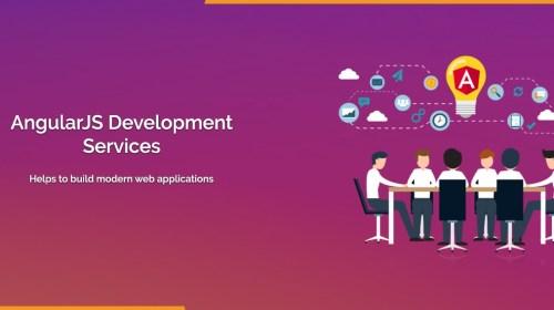 Angular js web development