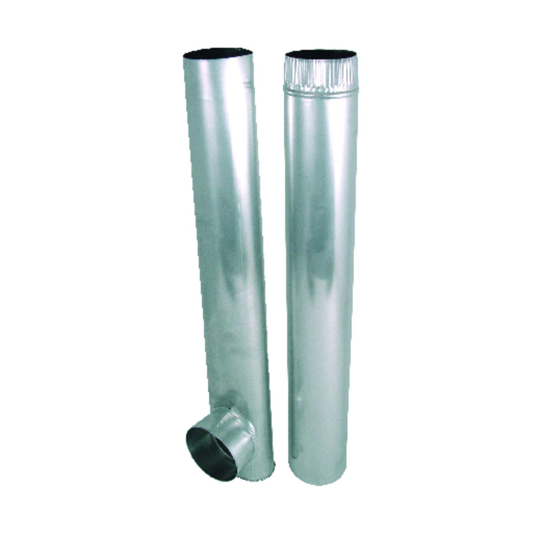 deflect o jordan 4 in dia x 27 48 in l dryer vent kit aluminum