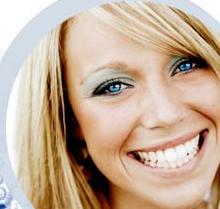 hvide flotte tandblegning tænder