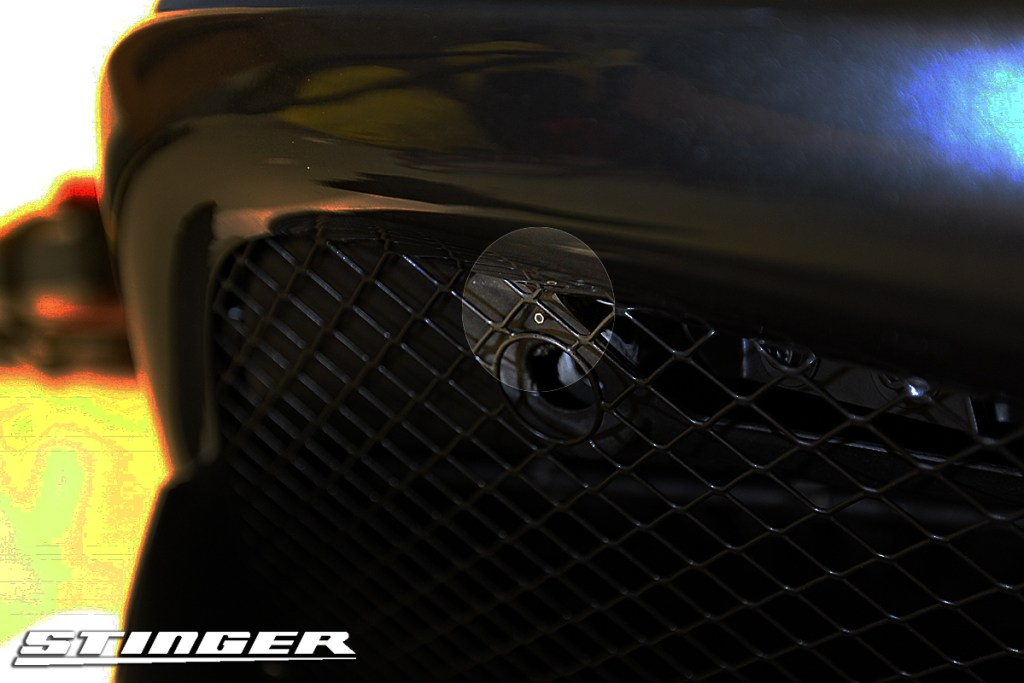 Stinger-laser-installed