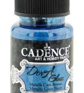 Cadence Dora Glas & Porselein verf Metallic Dora blauw
