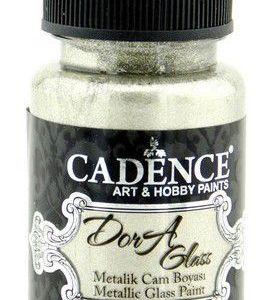 Cadence Dora Glas & Porselein verf Metallic Platinum