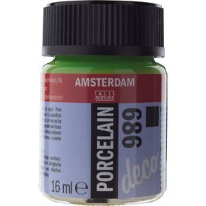 Amsterdam Deco Porselein Olijfgroen Dekkend 16 ML Kleur 686