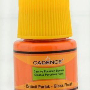 Cadence – Opague Glas & Porselein Verf – Oranje