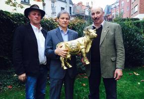 Dacian Ciolos Vaca de aur