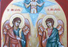 Sfintii Arhangheli Mihail si Gravriil traditii si obiceiuri