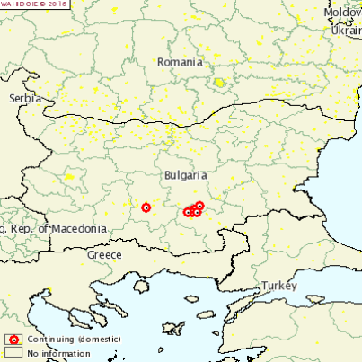 Harta-dermatita-nodulara-Bulgaria