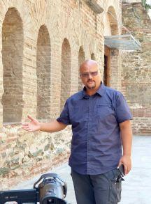 Thessaloniki - filmare la biserica sec V dHr
