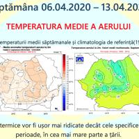 Prognoza meteo Romania 6 Aprilie - 4 Mai 2020 Romania #primăvara ANM