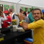 Bar caïpirinha soirée Coupe du Monde pour les collaborateurs d'Edenred