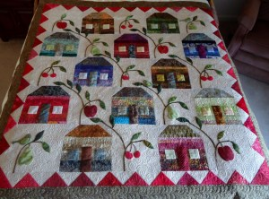 House Quilt by Lucille