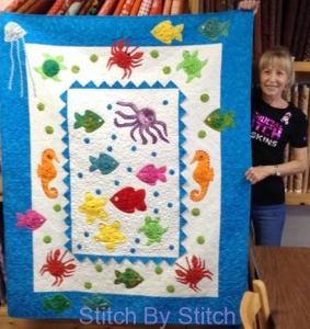 Debbie's Under The Sea Quilt