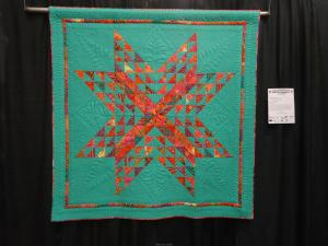 Hanging at Pennsylvania National Quilt Show