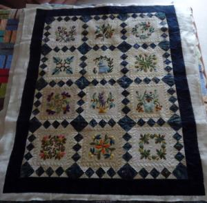 Applique Quilt by Pat