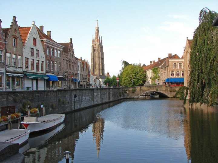 Bruges in the morning light