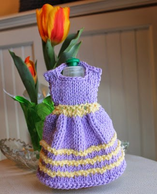 Wishing All A Happy Mothers Day With A Free Knit Dress Dishcloth