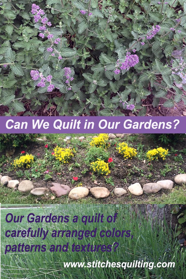 Quilt in Gardens