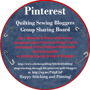 Quilting or Sewing Bloggers Group Pinterest Board