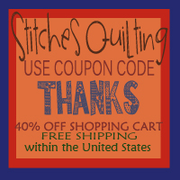 40% OFF Quilting Stitches FALL SALE Storewide