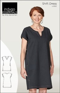 Indygo Essentials Shift Dress Sewing Pattern