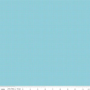 Riley Blake Fabric C4865 Aqua Where Women Cook Ooh La La