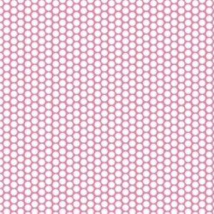 Riley Blake Honeycomb Dot Hot Pink C680-70