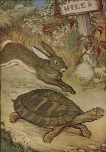 aesops_fables_hare_and_tortoise_by_milo_winter